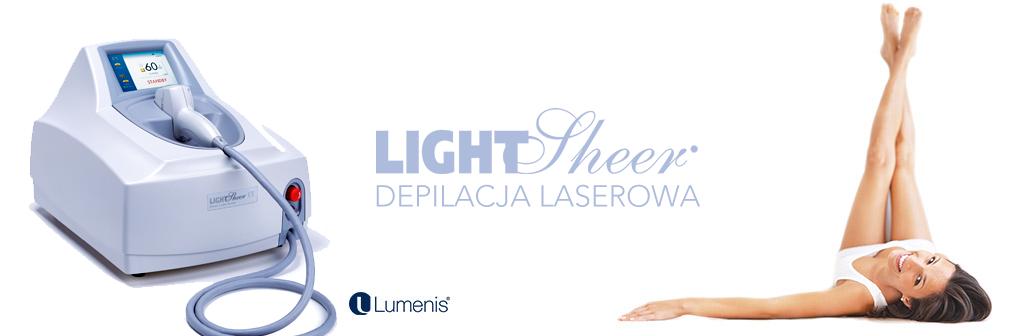 Depilacja laserowa Light Sheer